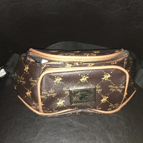 e4f56d5a6a1 Beverly Hills Polo Club Bags   Waist Fanny Pack Signature   Poshmark